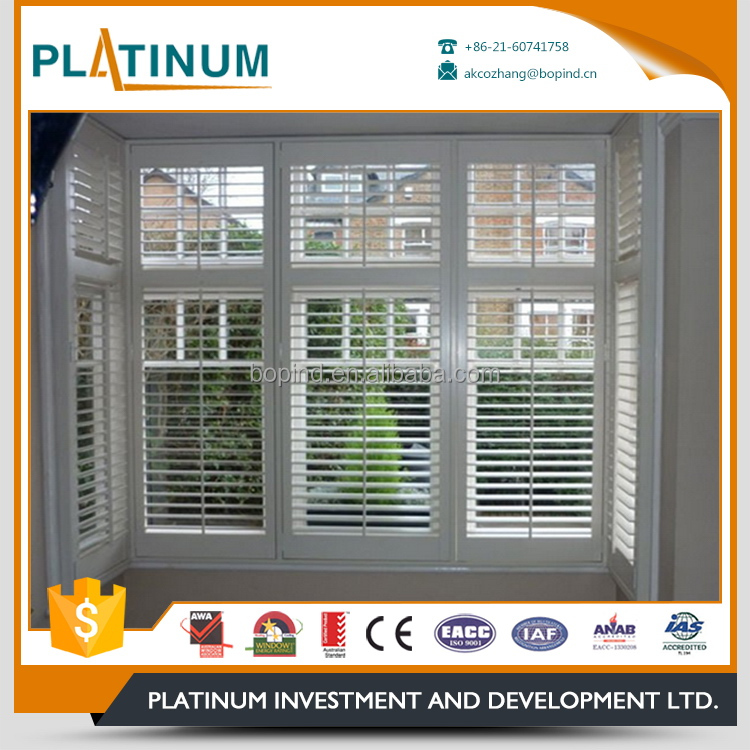 Direct factory residential aluminum adjust louver window