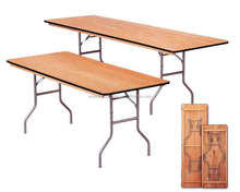 Wood Trestle Table Dining Table