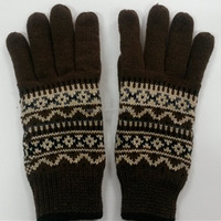 Professional fleece mens winter gloves