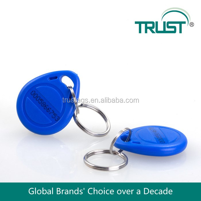 Priced Custom 125khz T5577 Plastic Rfid Key Fobs