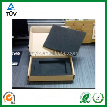 CORRUGATED BOX WITH FOAM CUSTOM DESIGN
