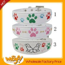 Hot selling pet dog products high quality diy dog collars