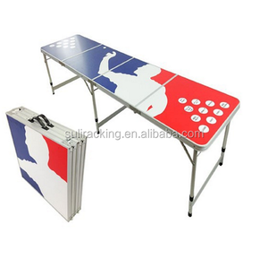 Beer Pong Adjustable Folding Table