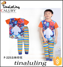 boys short sleeve cotton pajamas suits kids sleeping wear children fashion brand clothes sleeping suit summer model pajama