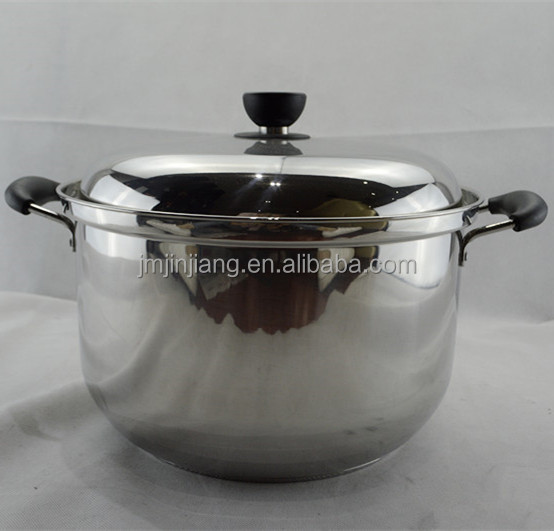 manufacturing T-type steel lid with air hole casseroles cookware
