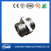 RF adaptor type 7/16 din female to female flange mount connector
