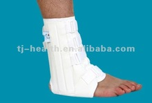 Deluxe ankle splint with stays
