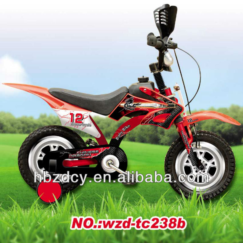 new model 12'' 16'' pedal children motorbike bicycle