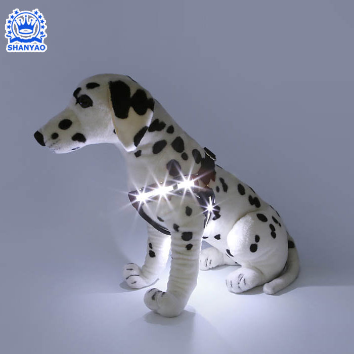 Factory Supply Hot Sales Safety Led Pet Dog Harness With Led Lights For Outdoor Sports