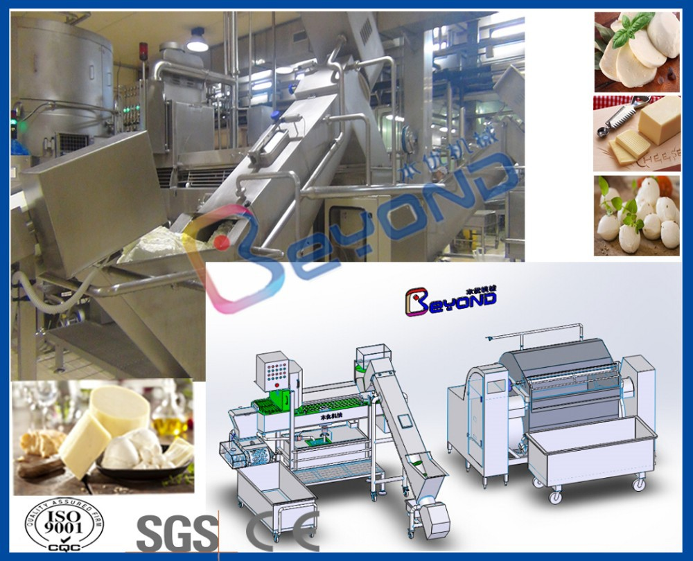 Mozzarella cheese equipment