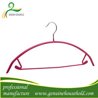 electrical wire hanger Promotional pvc coated metal wire hanger for display