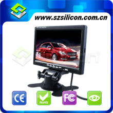 "7"" TFT Video Revers LCD Sun Visor Monitor Rear View Parking Camera For Car"
