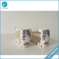 Brown plain kraft paper small box for soap bar