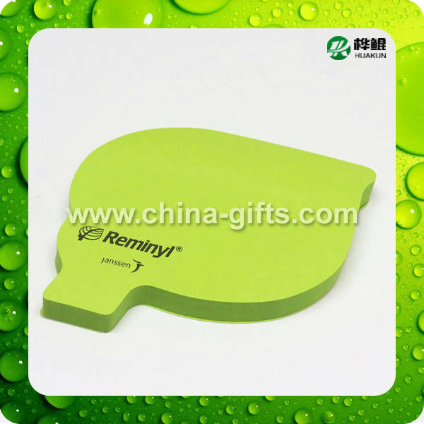 Die cut Funny sticky note with custom design --creative stationery