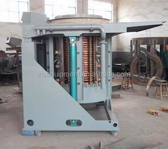Industrial Furnace Smelting Scrap Steel Iron Induction ...