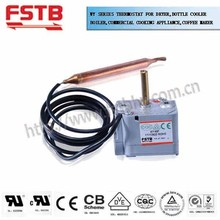High quality WY capillary type thermostat for dryer, bottle cooler, boiler