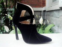 Newest design winter sexy lady gaga shoes for sale
