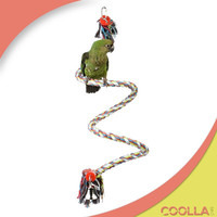 custom promotional bird Rope Bungee Perch