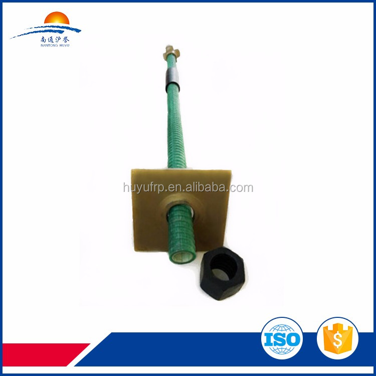 Tunnel used hollow self drilling rock bolt