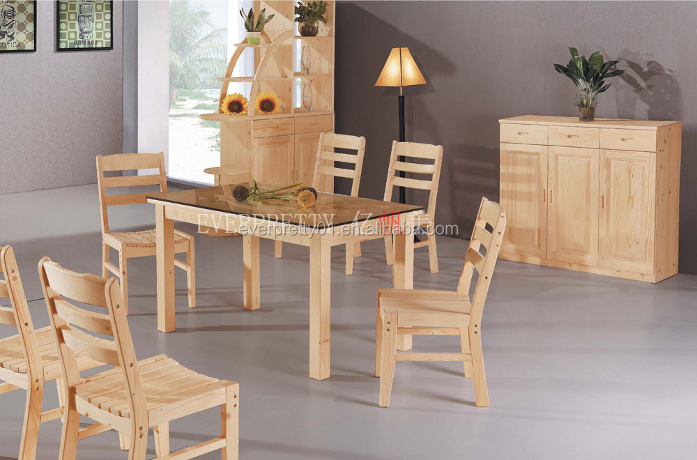 Solid Wood Dining Room Set Dining Table