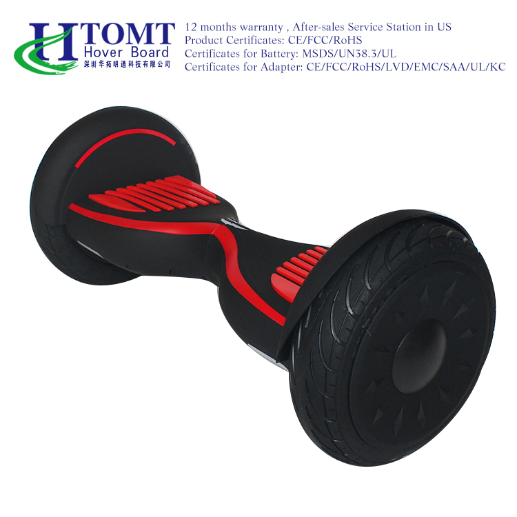 china factory 10inch off road electric scooter hoverboard with samsung battery