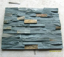 Natural Green Slate Cultured Stone Wall Panel/Interior Wall Decoration Ledge Stone Panel,decorative 3d wall panels