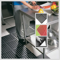 Oil proof Restaurant Antifatigue Mats,Anti-slip kitchen Flooring mat,Easy clean rubber paver