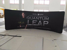 Textile Aluminum Tension Fabric Backdrop Display,Banner Stand
