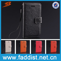 Alibaba China Luxury Flip case for iphone 5c With wallet stand and card holder