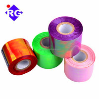 pet 14-26micron 3M quality candy wrapping and sequin/glitter making rainbow iridescent film