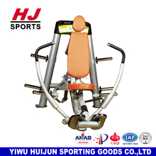 HJ-B7007 Commercial Gym Body Building Equipment /Decline Chest Press Machine with 80kg weight plates