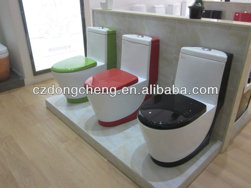 new round design daul buttom bathroom ceramic toilet chaoan sanitary ware water closet