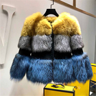 SF0497 High Quality Women winter fox fur coat