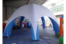 Available slogan and artwork inflatable advertising tent