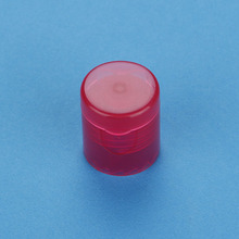 Plastic flip top Dispenser cap 28mm screw cap for bottles