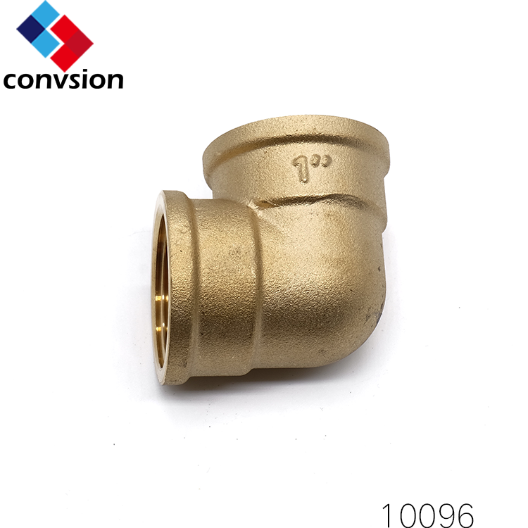 "Low price 1/2"" 3/8"" Brass Malleable Pipe Fittings Pneumatic Fittings"