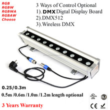 highpower pixel LED bar light IP65 DMX 4in1 RGBW LED wall washer 40w 80w 120w 160w