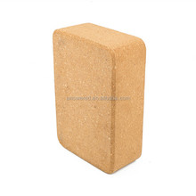 Natural Cork Yoga Block (9 x 6 x 3-Inch),Fitness Brick