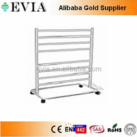 low consumption electric stainless steel heated towel rail 2015