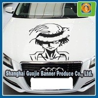 pvc vinyl sticker cost effective custom car/bus sticker advertising