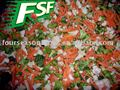 IQF mixed vegetable mixed frozen vegetables