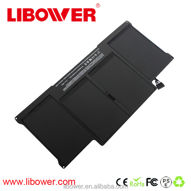 Grade A computer battery cheap notebook battery replacement laptop battery for Apple MacBook air 13 mc965 mc966 A1405 A1466