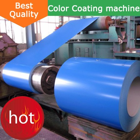 automatic aluminum metal coating machine industrial coil color coating line