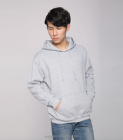 Men's knitted heavy cotton pullover custom hoodies