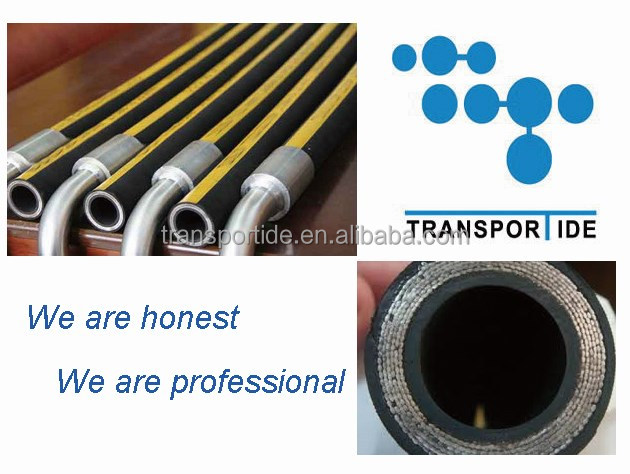 Spiral guard for hydraulic hose, Hydraulic hose with spiral guard, hydraulic hose