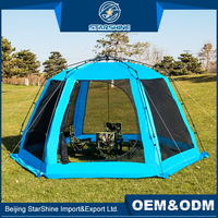 High Mouldproof 4-6 People Family Camping Tents Auto Set Up Hiking Large Outdoor Garden Tent