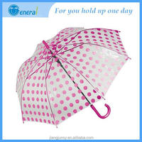 Cheap Promotion Customize Chinese wholesale Hot sale POE umbrella pvc