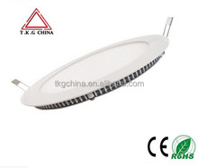 flat led ceiling panel lighting, high quality 18W round LED panel light