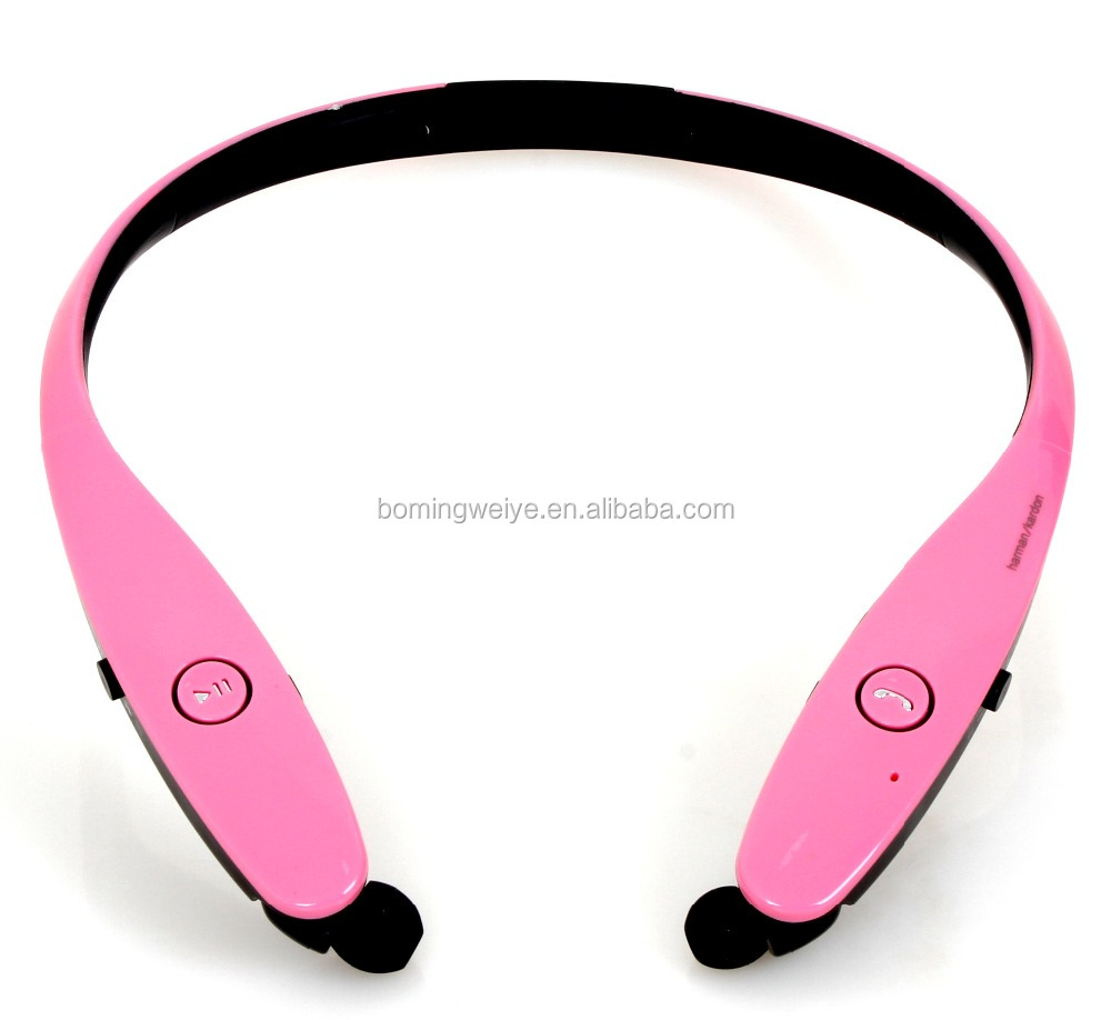 Colorful Wireless <strong>Communication</strong> and Neckband Style bluetooth headset HBS900