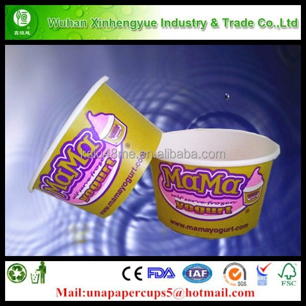 16oz Paper Cup Ice Cream/ Disposable Ice Cream Paper Cup